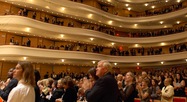 Interior of Segerstrom Concert Hall