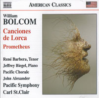 William Bolcom: Canciones de Lorca, Prometheus