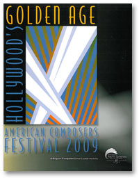 American Composers Festival 2009 history