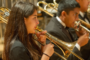 Pacific Symphony Youth Ensemble musicians