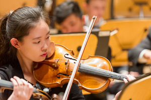 Members of Pacific Symphony Youth Orchestra