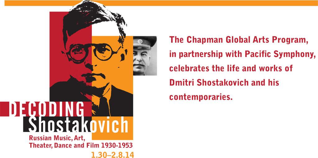 Pacific Symphony : Shostakovich Festival Calendar