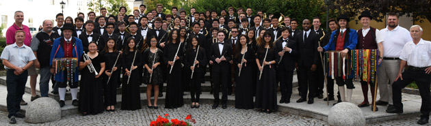 Pacific Symphony Youth Wind Ensemble in Austria