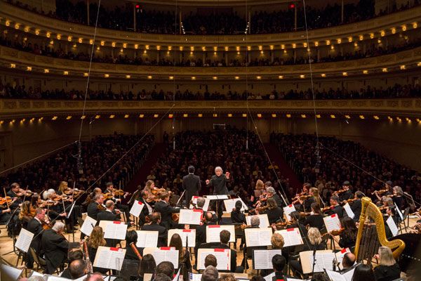 Pacific Symphony at Carnegie Hall