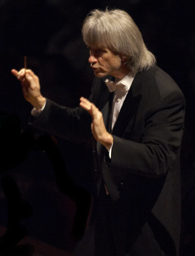 Carl St.Clair conducting