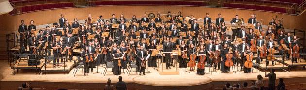 Pacific Symphony Youth Orchestra
