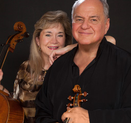 Jaime Laredo and Sharon Robinson