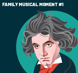 Family Musical Moment - Beethoven's Pastoral Part 1