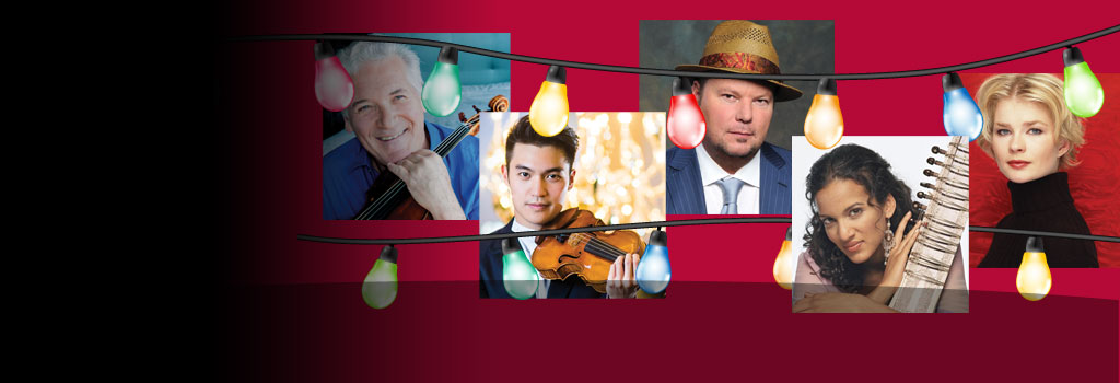 Give the Gift of Music  -  Purchase 3 Concerts for just $99!