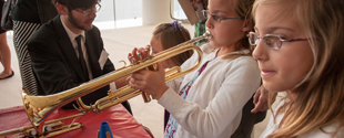 Musical Playground with Volunteer