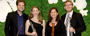 Pacific Symphony musicians perform at Opening Night Party